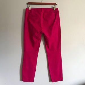 J. Crew Pants - J. Crew Minnie Crop Pants—Pink